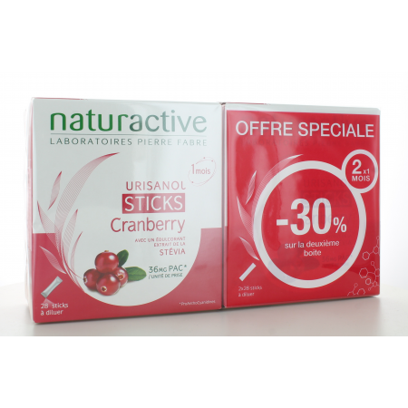 Urisanol Naturactive 2X28 sticks