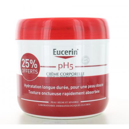 Crème Corporelle pH5 Eucerin 450 ml