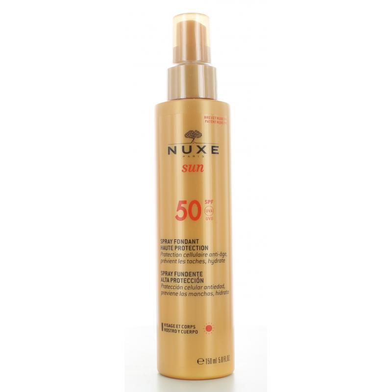 Nuxe Sun Spray Fondant Haute Protection SPF50 150ml