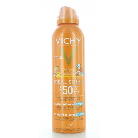 Vichy Idéal Soleil Brume Anti-sable Enfants SPF50+ 200ml