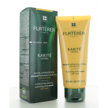 Masque Hydratation Brillance Karité Hydra Furterer 100 ml