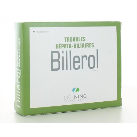 Billerol Lehning 3 x15 comprimés
