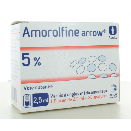 Amorolfine 5% Arrow