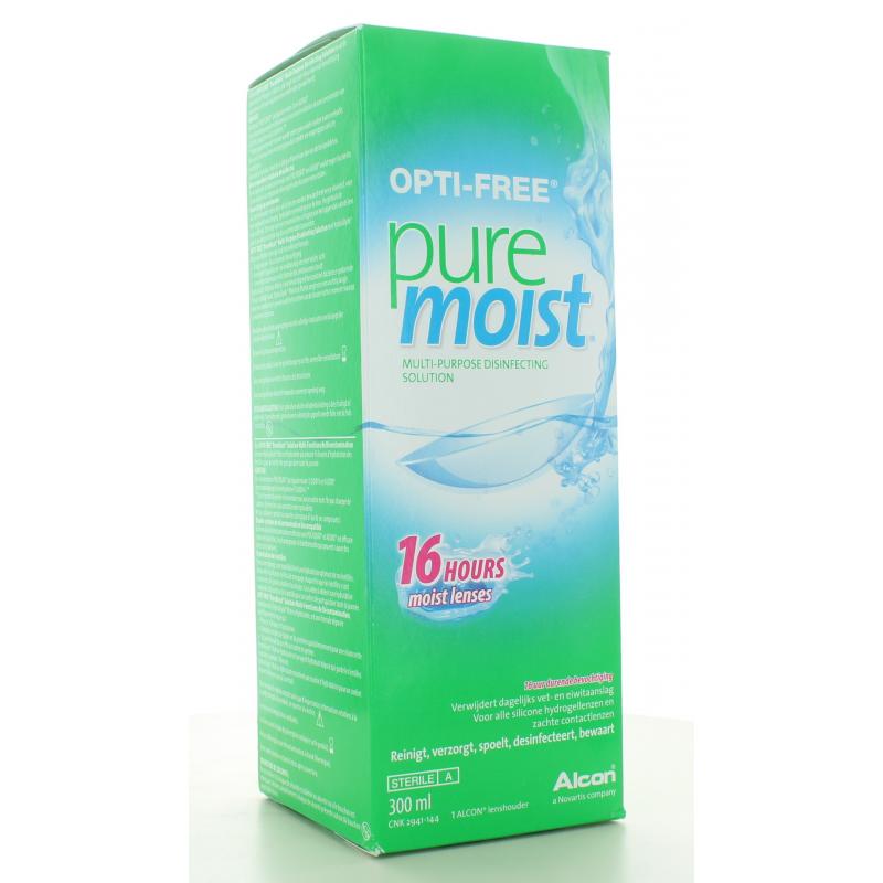 Solution pour Lentilles Opti-Free Pure Moist 300 ml