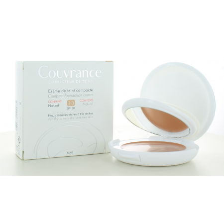 Avène Crème de Teint Compacte Couvrance Confort Naturel 2.0