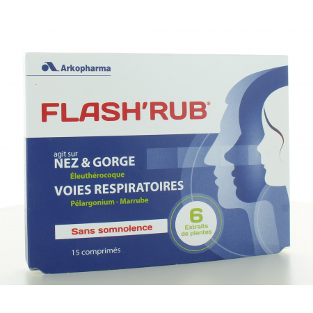 Flash'Rub Arkopharma 15 comprimés