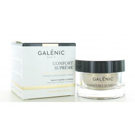 Crème Légère Nutritive Nuit Confort Suprême Galénic 50 ml