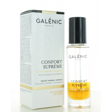 Sérum Duo Revitalisant Confort Suprême Galénic 30 ml