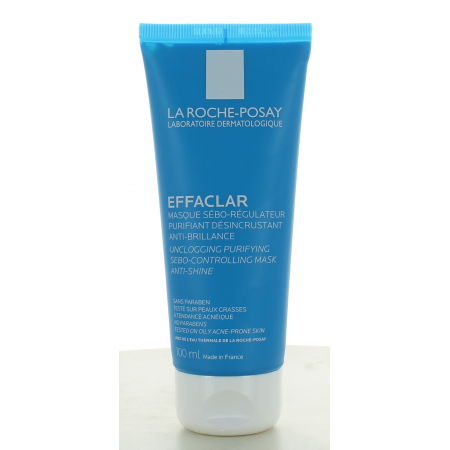 La Roche-Posay Masque Sébo-Régulateur Effaclar 100 ml
