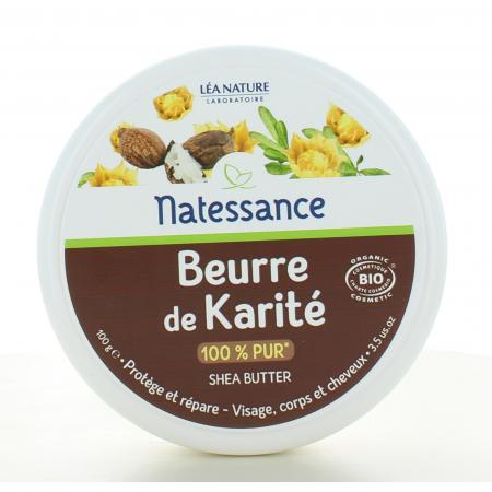 Natessance Beurre de Karité Bio 100g