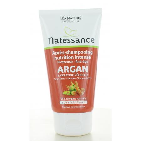 Natessance Après-shampooing Nutrition Intense Argan...