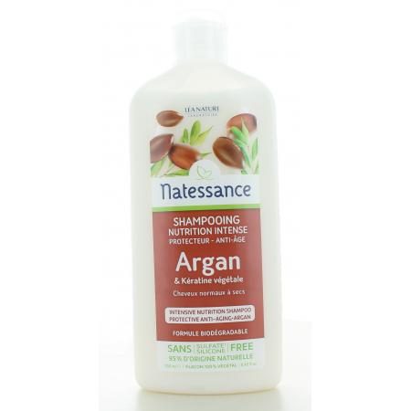 Natessance Shampooing Nutrition Intense Argan 250ml