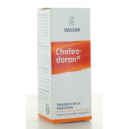 Choleodoron Weleda Solution Buvable 30 ml