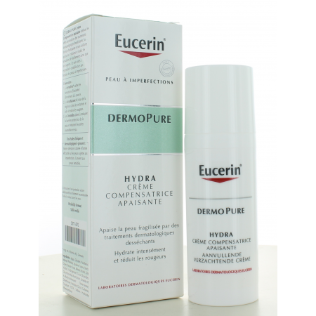 Crème Compensatrice Apaisante Hydra DermoPure...