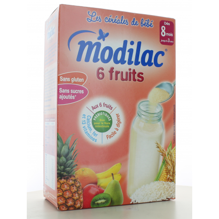 Modilac 6 Fruits 300 g