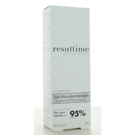 Gommage Soin Microdermabrasion Resultime 50 ml