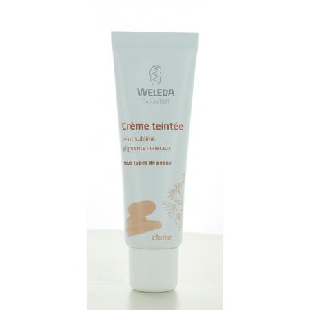 Crème Teintée Claire Weleda 30 ml