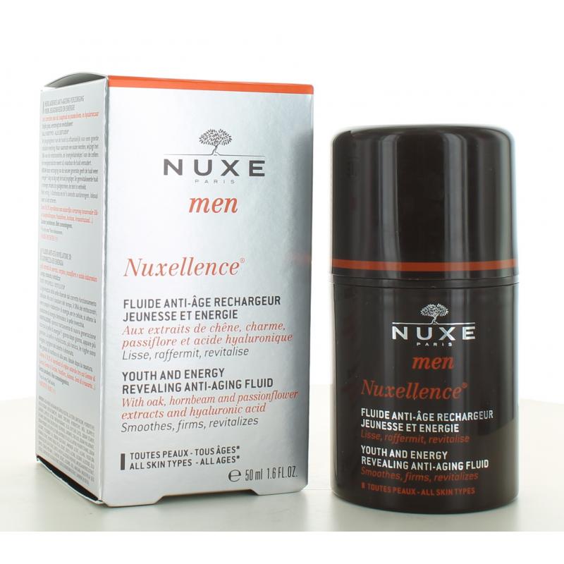 Fluide Anti-âge Nuxellence Nuxe Men 50 ml