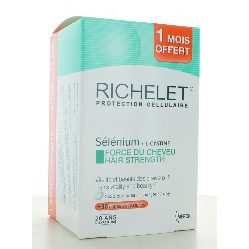 Force du Cheveu Richelet 60 capsules + 30