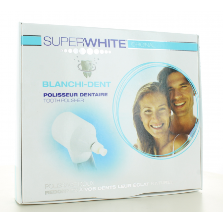 SuperWhite Polisseur Dentaire Blanchi-Dent