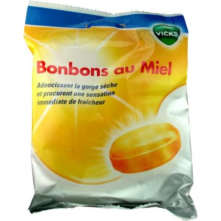 VICKS BONBONS AU MIEL POUR LA GORGE