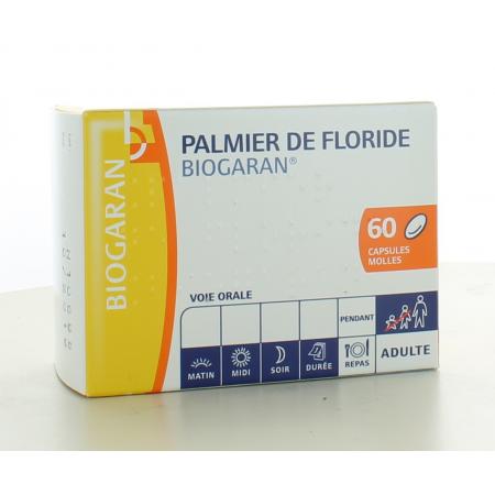 Palmier de Floride Biogaran 60 capsules