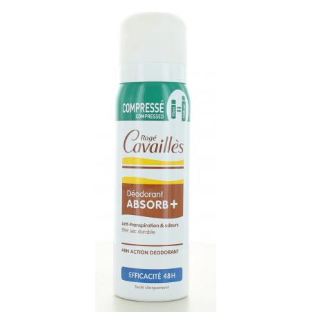 Déodorant Absorb+ Rogé Cavaillès 75 ml