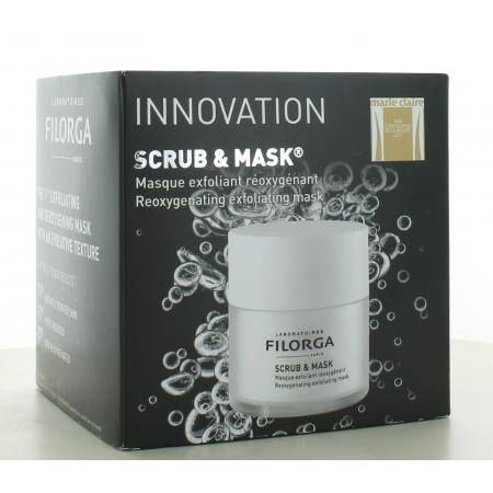 Masque Exfoliant Réoxygénant Scrub & Mask Filorga 55 ml