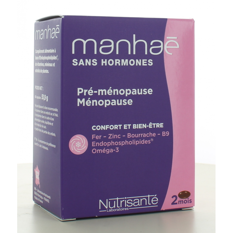 Manhaé Féminité Ménopause 60 capsules