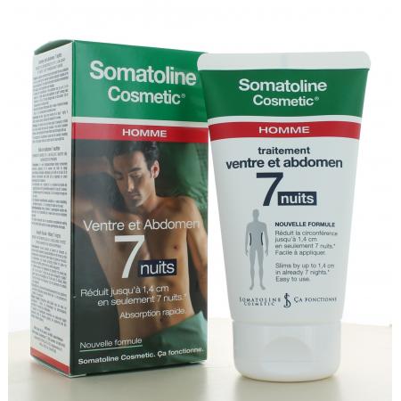 Somatoline Cosmetic Homme Traitement Ventre et Abdomen 7 Nuits 150ml