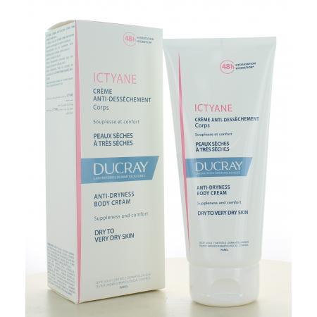 Ducray Ictyane Crème Anti-dessèchement Corps 200ml