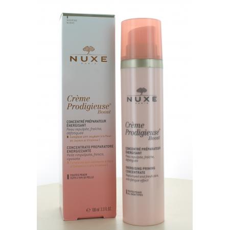 Nuxe Crème Prodigieuse Boost Concentré Préparateur Énergisant 100ml