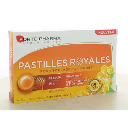 Pastilles Royales Goût Miel Forté Pharma 24 pastilles