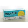 MucoDrill 600mg Sans Sucre Arôme Orange 10 comprimés effervescents