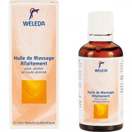 Huile de Massage Allaitement Weleda 50 ml