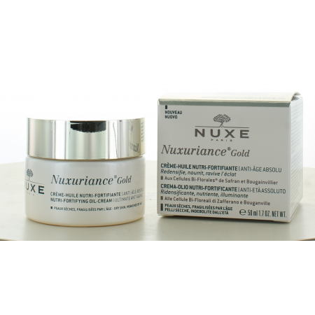 Nuxe Nuxuriance Gold Crème - Huile Nutri-Fortifiante 50ml