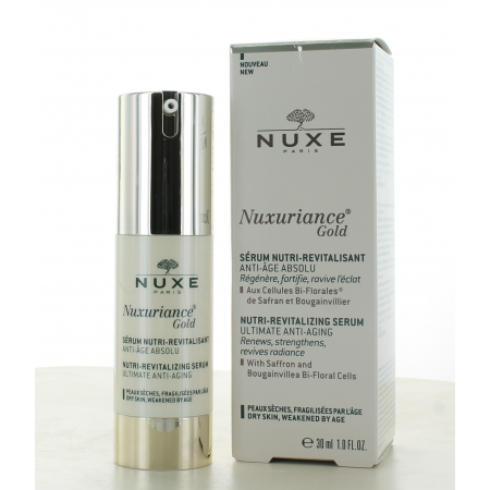 Nuxe Nuxuriance Gold Sérum Nutri-Revitalisant 30ml