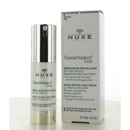 Sérum Nutri-Revitalisant Nuxuriance Gold Nuxe 30ml