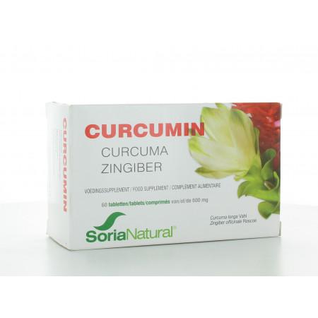 Curcumin Soria Natural 60 comprimés