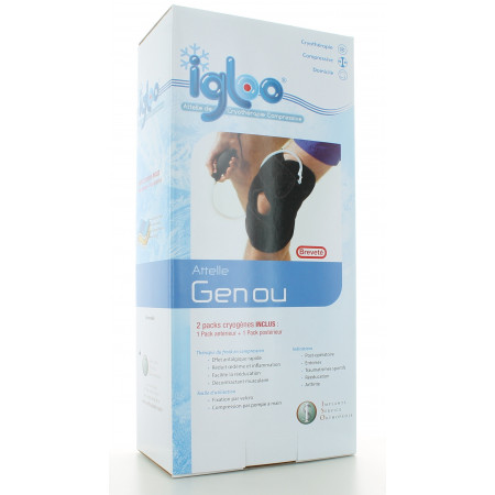 Attelle de Cryothérapie Compressive Genou Igloo