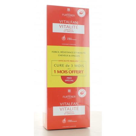 Vitalfan Cheveux et Ongles Furterer 3X30 capsules