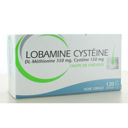 Lobamine Cystéine Ducray 120 gélules