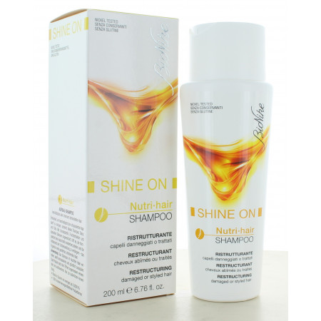 Shampooing Restructurant Nutri-Hair Shine On Bionike 200ml