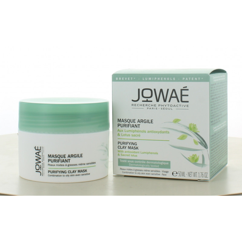 Masque Argile Purifiant Jowaé 50ml