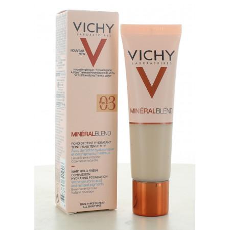 Vichy MinéralBlend Fond de Teint Hydratant 03 Gypsum 30ml
