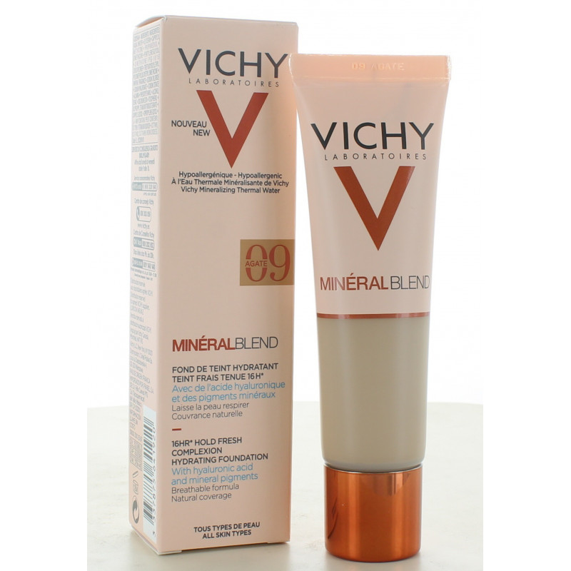 Vichy MinéralBlend Fond de Teint Hydratant 09 Agate 30ml