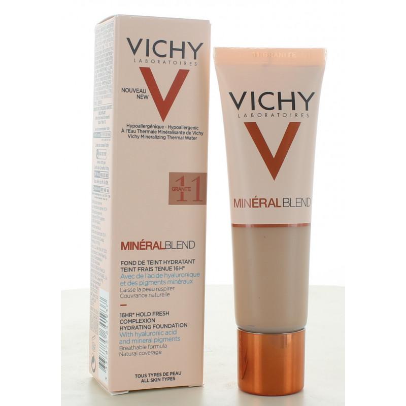 Vichy MinéralBlend Fond de Teint Hydratant 11 Granite 30ml