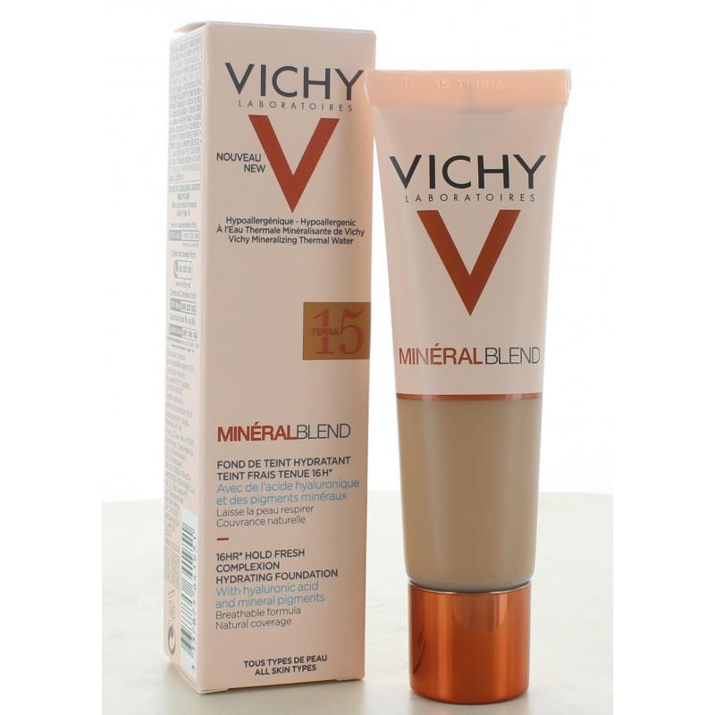 Vichy MinéralBlend Fond de Teint Hydratant 15 Terra 30ml