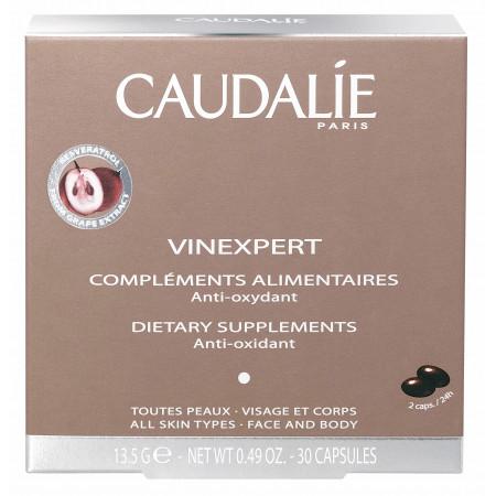 Caudalie Vinexpert Compléments Alimentaires Anti-oxydant 30 capsules