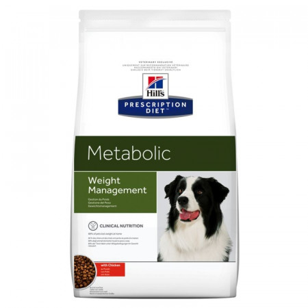 Croquettes Hill's Prescription Diet Canine Metabolic Weight Management 12kg